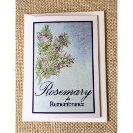Sympathy Card with Envelope (Set of 25)