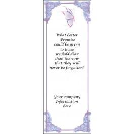 Memorial Bookmark (bulk)