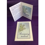 Remembrance Package (set of 25) 3 Piece set (Card, Packet, & Envelope)