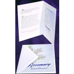 Sympathy Card (with Memorial Packet) (Rosemary Exclusive!)