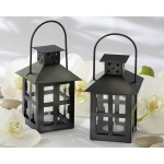 Black Lantern Tealight Holder