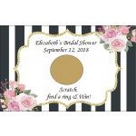 Personalized Kate Spade Inspired Scratch Off Game (Set of 12)