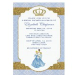 Personalized Cinderella Invitation