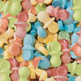 Pacifier Baby Shower Candy