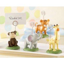 """""""Born To Be Wild"""" Animal Place Card/Photo Holders (Set of Four Assorted)"""