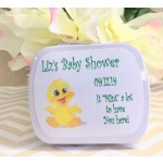 Personalized Baby Ducky Mint Tins (Set of 12) 3 Colors