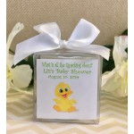 Personalized Baby Ducky Candle  (3 Colors)